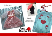 Ana y Botón: Princesa - As de Corazones