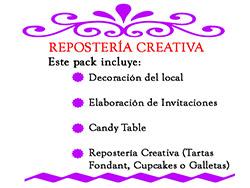 Reposteria creativa
